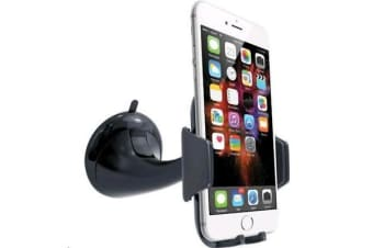 3SIXT Universal Phone Car Mount Black Awesome for GPS & hands-free calling