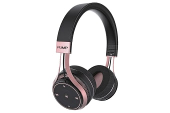 Blueant Pump Soul Bluetooth Wireless on Ear Stereo Headset - Rose Gold