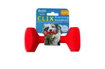 Clix Dogs Retrieval Training Dumbbell (May Vary)