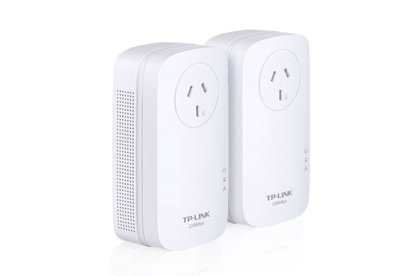 TP-LINK Gigabit Passthrough Powerline Starter Kit (TL-PA8010PKIT AV1200)