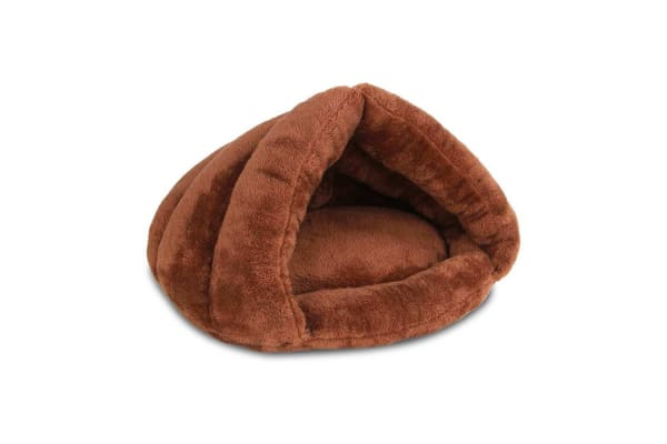 Cave Style Pet Bed (Brown)