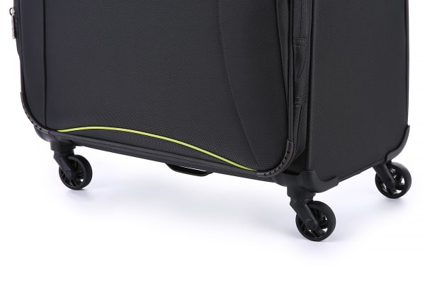 Antler Zeolite 3 Piece Softside Roller Luggage Case Set - Charcoal