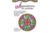 Inkspiration for Women - Color Your World Happy--30+ Intricate Designs to Help You Relax and Renew