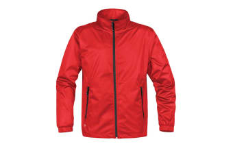 Stormtech Mens Axis Lightweight Shell Jacket (Waterproof And Breathable) (Sports Red/Black) (XL)