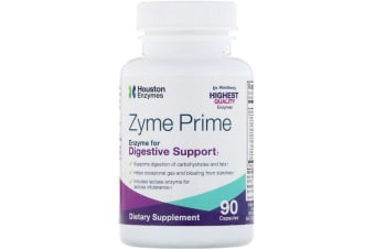 Houston Enzymes Zyme Prime 90 Capsules