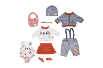 Baby Born Deluxe Super Mix and Match Doll Clothes - 43cm