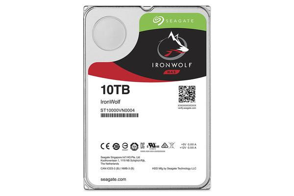Seagate 10TB 3.5' IronWolf  SATA3 NAS 24x7 7200RPM 256MB Cache. Performance HDD. 3 Years Warranty