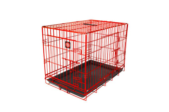 Dog Life Dog Crate (Red)