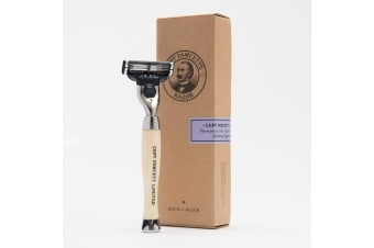 Capt Fawcett's Handcrafted Safety Razor Mach 3
