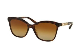 Bvlgari BV8163B 56mm - Dark Havana (Brown Shaded lens) Womens Sunglasses