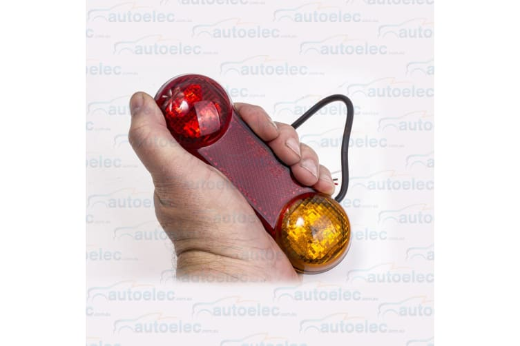 LED TRAILER LIGHTS KIT TAIL STOP INDICATORS LAMPS & WIRING DB2