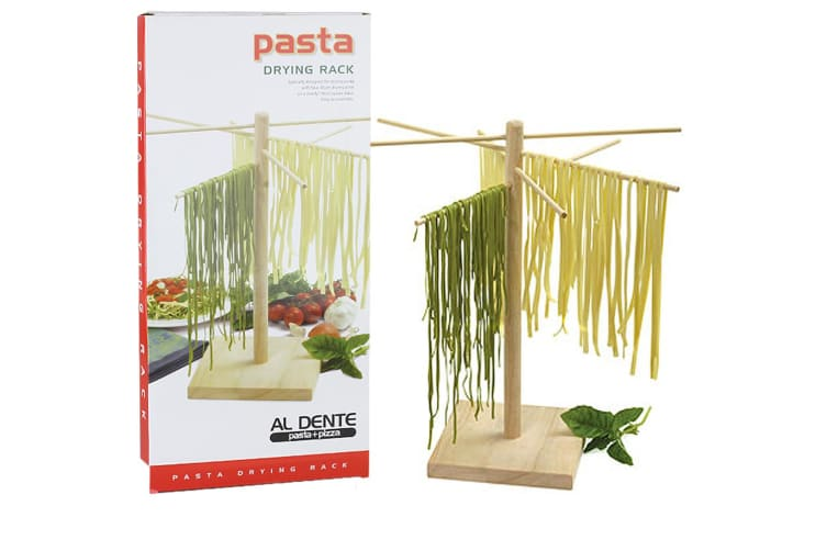 AL DENTE 44cm Pasta Drying Rack - 4 of 45cm Arms / 19cm square base HIGH QUALITY