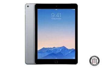 Apple iPad Air 2 Refurbished (64GB, Wi-Fi, Space Grey) - A Grade