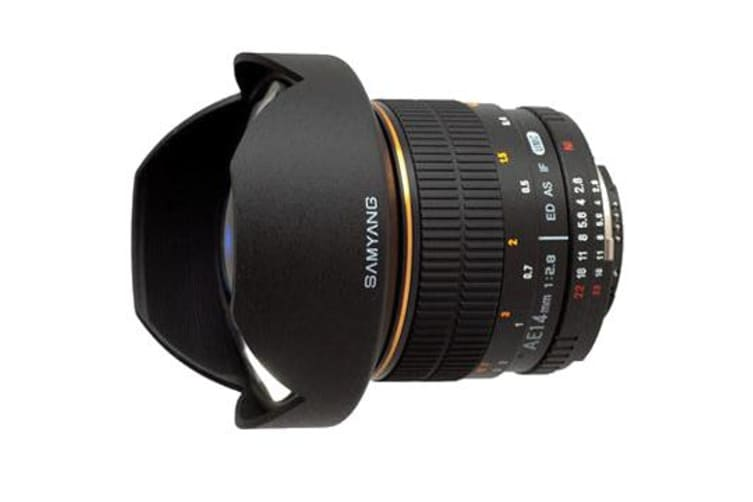 New Samyang AE 14mm f/2.8 ED AS IF UMC Aspherical Lens For Nikon (FREE DELIVERY + 1 YEAR AU WARRANTY)