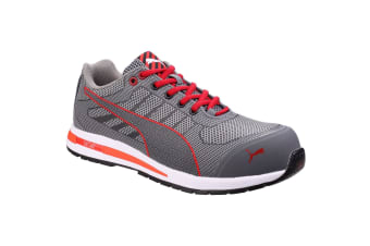 Puma Mens Xelerate Knit Low Safety Trainers (Grey)