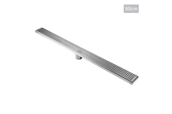 Square Stainless Steel Shower Grate Drain Floor Bathroom 800mm