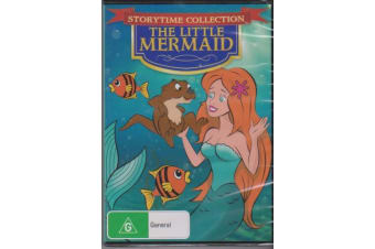 The Little Mermaid - Storytime Collection Region ALL -Kids Region All DVD NEW