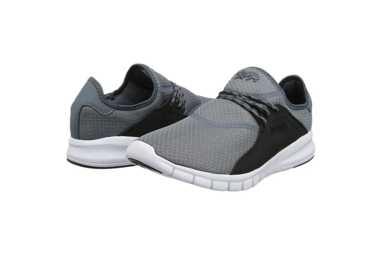 Lonsdale Mens Sirius Trainers (Grey/Black) (10 UK)