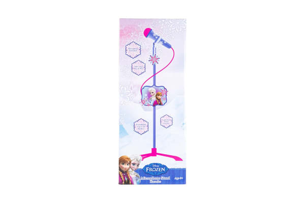 Frozen Premium Karaoke Microphone and Stand