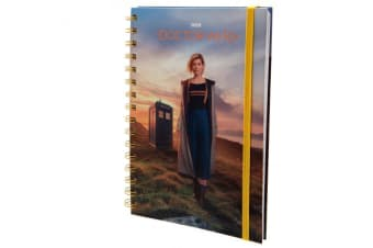 Doctor Who Notebook (Multicoloured) (One Size)