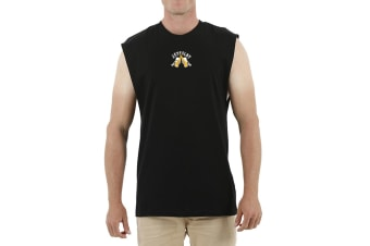 JetPilot Save Water Mens Muscle - Black - Small