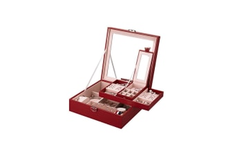 31MADISON Bordeuxe Red Quilted Jewellery Case