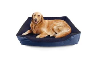 PaWz Pet Bed Mattress Dog Cat Pad Mat Cushion Soft Winter Warm Large Washable  -  BLUEXL