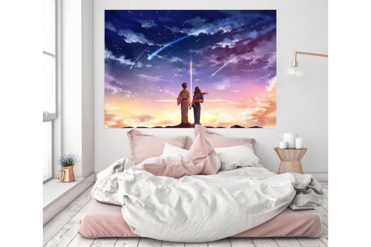 3D Your Name 293 Anime Wall Stickers Self-adhesive Vinyl, 260cm x 150cm(102.3'' x 59'') (WxH)