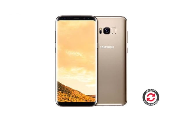 Samsung Galaxy S8 Refurbished (64GB, Maple Gold) - A+ Grade