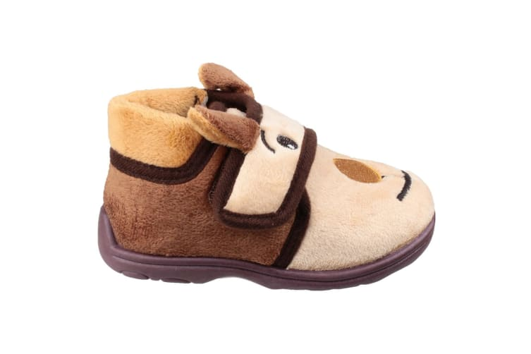 Mirak Childrens Kids Farm Animal Slippers (Bear) (19 EUR)