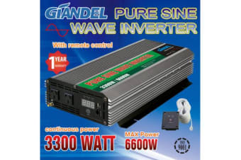 3300W Pure Sine Wave Inverter with Remote Control