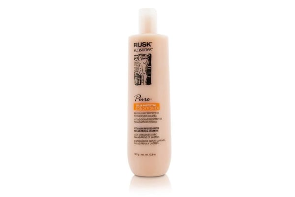 Rusk Sensories Pure Color-Protecting Conditioner (Vitamin Infused with Mandarin & Jasmine) 383g/13.5oz