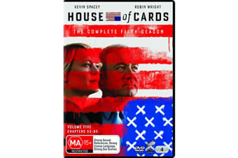 House of Cards The Complete Fifth Season 5 DVD Region 4