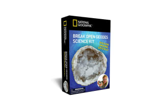 National Geographic Break Open Geodes Kit