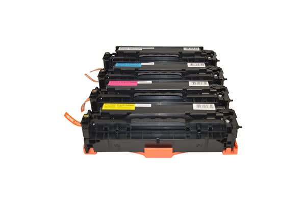 CE410X #305X Series Premium Generic Laser Toner Cartridge Set