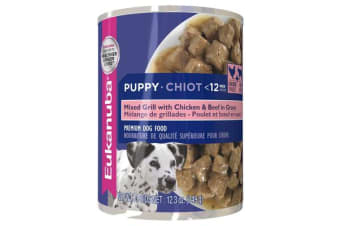 Eukanuba Puppy Chicken Beef Cans - 1 Can