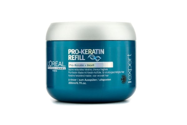 L'Oreal Professionnel Expert Serie - Pro-Keratin Refill Correcting Care Masque (For Damaged Hair) (200ml/6.7oz)