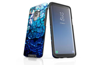 For Samsung Galaxy S9 Case Armour Cover  Blue Mirror