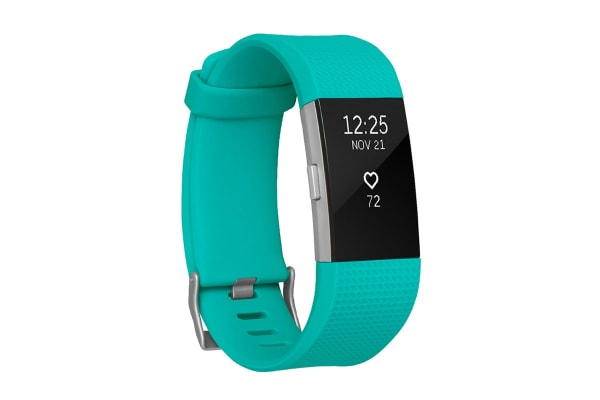 Fitbit Charge 2 (Large, Teal)
