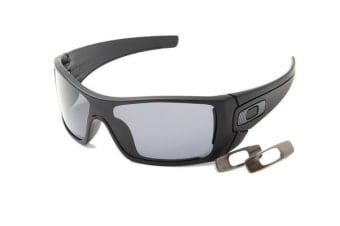 Oakley BATWOLF - Matte Black (Grey Polarised lens) Mens Sunglasses