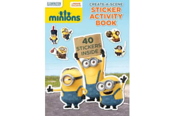 Minions - Create a Scene Sticker Activity Book