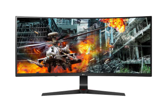 "LG 34"" 21:9 2560x1080 Full HD Curved UltraWide IPS 144hz Monitor with HDR and G-Sync (34GL750-B)"