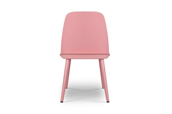 Set of 2 Nerd Replica Dining Chair (Pink)