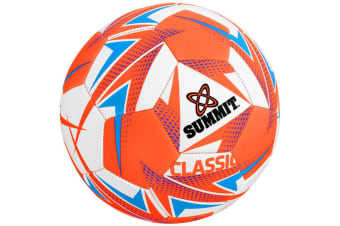 Summit Size 4 Classic Soccer/Football Sports Stitched PVC 32 Panel Playing Ball