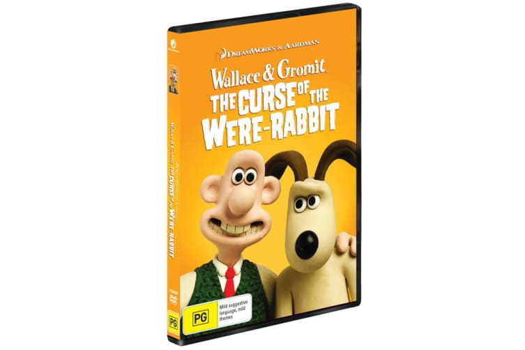 Wallace and Gromit The Curse of the Were rabbit DVD Region 4