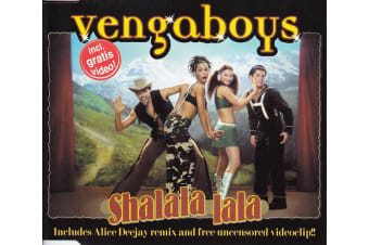 Vengaboys ‎– Shalala Lala PRE-OWNED CD: DISC LIKE NEW