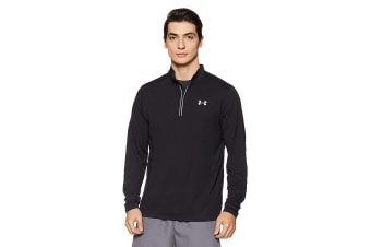 Under Armour Men's Streaker Run 1/4 Zip (Black/Reflective)