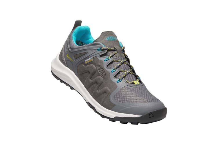 Keen Explore WP Womens Steel Grey bright Turquoise - 9