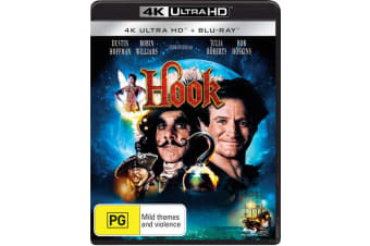 Hook 4K Ultra HD Blu-ray UHD Region B