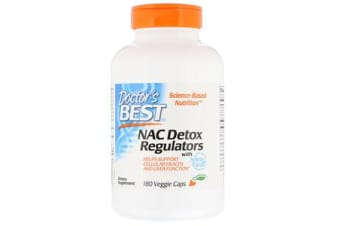 Doctor's Best NAC Detox Regulators - 60 Capsules